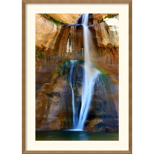 'Lower Calf Creek Falls' by Andy Magee Framed Photographic Print