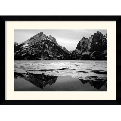 Amanti Art 'Teton Winter' by Andy Magee Framed Photographic Print