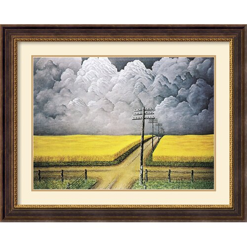 'Gray and Gold' by John Rogers Cox Framed Painting Print