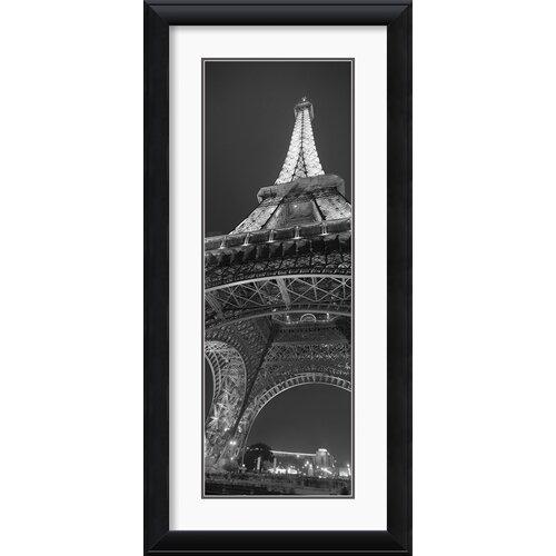 Amanti Art 'La Tour Eiffel' by Jim Alinder Framed Photographic Print