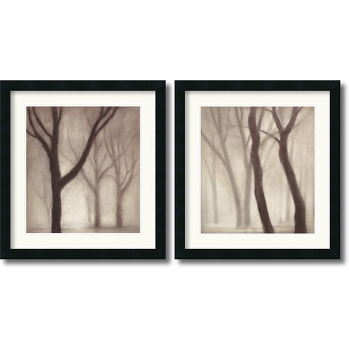 'Forest' by Gretchen Hess 2 Piece Framed Painting Print Set