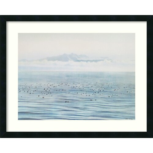 'Migrating Ducks' by Jeane Duffey Framed Painting Prints