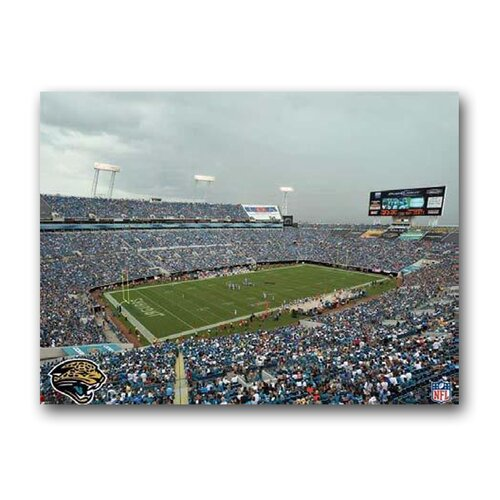 Artissimo Designs NFL Stadium Photographic Print on Canvas