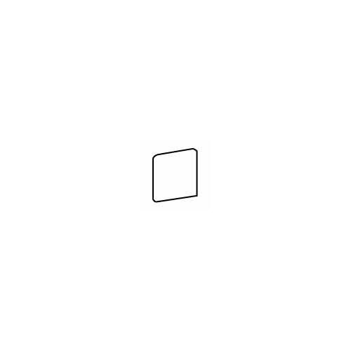"American Olean Costa Rei 3"" x 3"" Bullnose Corner Tile Trim in Oro Miele"