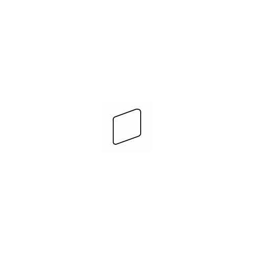 "American Olean Costa Rei 2"" x 2"" Surface Bullnose Outcorner Tile Trim in Pietra Bianco"