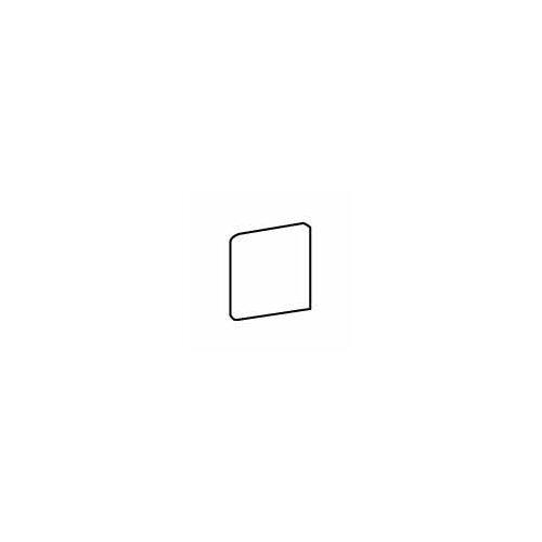 """American Olean Pozzalo 6"""" x 6"""" Bullnose Corner Tile Trim in Sail White"""