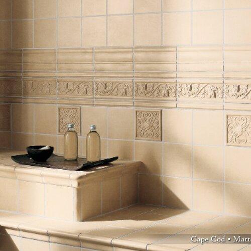"""Emser Tile Cape Cod 6"""" x 6"""" Surface Bullnose Tile Trim in Natural Matte"""