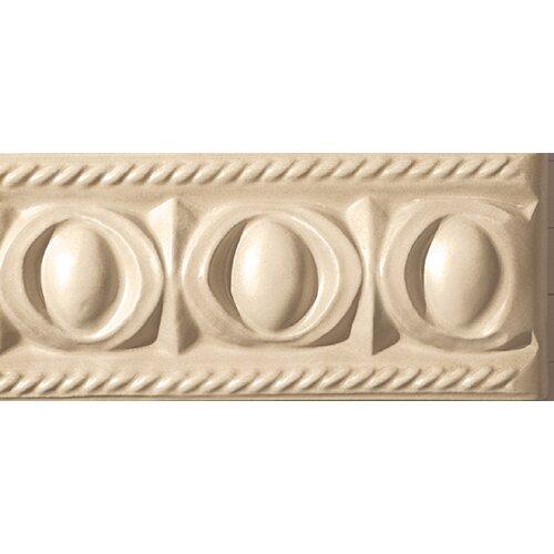 "Emser Tile Cape Cod 9"" x 4"" Park Stop Accent Tile in Natural Matte"