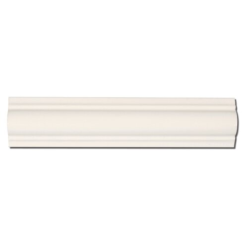 "Emser Tile Classica 9"" x 2"" Cigar Liner in Cream"