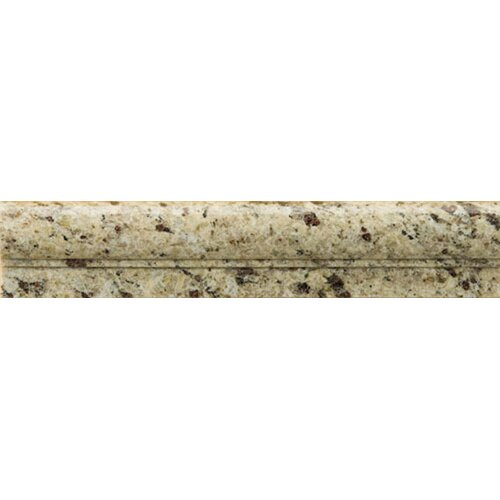 "Emser Tile Natural Stone 12"" x 2"" Granite OG in New Venetian Gold"
