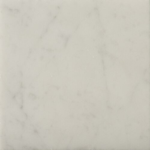 """Emser Tile Natural Stone 6"""" x 6"""" Honed Marble Field Tile in Bianco Gioia"""