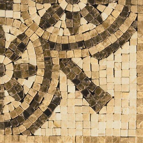"Emser Tile Natural Stone 4"" x 4"" Honed Marble Rieti Listello Corner"