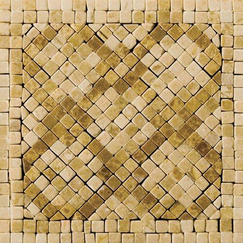 """Emser Tile Natural Stone 4"""" x 4"""" Honed Marble Savona Listello Corner"""