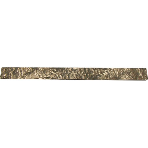 "Emser Tile Renaissance 12"" x 1"" Trento Liner in Antique Bronze"