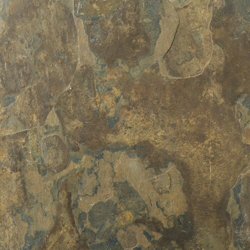 """Emser Tile Natural Stone 12"""" x 12"""" Calibrated Slate Tile in Rustic Gold"""