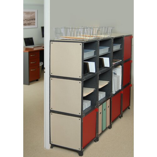 """Yube Cube 42.6"""" Office Supply Station"""
