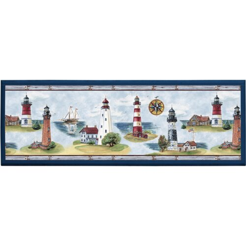 Illumalite Designs Lighthouse Painting Print on Plaque