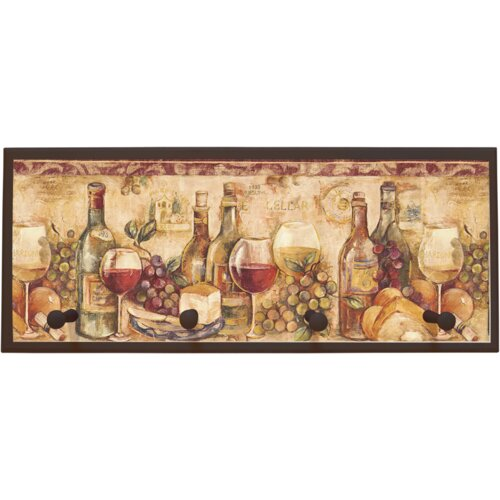 Illumalite Designs Wine Still Life Painting Print on Plaque