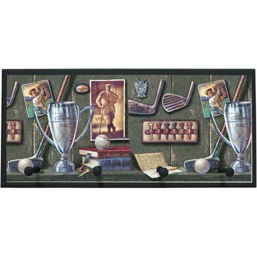 Illumalite Designs Vintage Golf Painting Print on Plaque