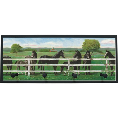 Illumalite Designs Saddle Up Wall Painting Print on Plaque