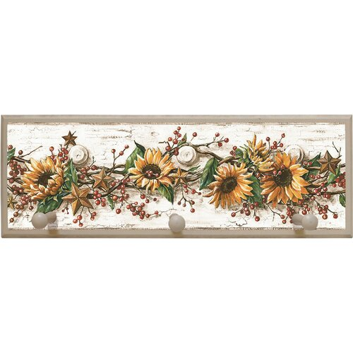 Illumalite Designs Sunflowers Painting Print on Plaque