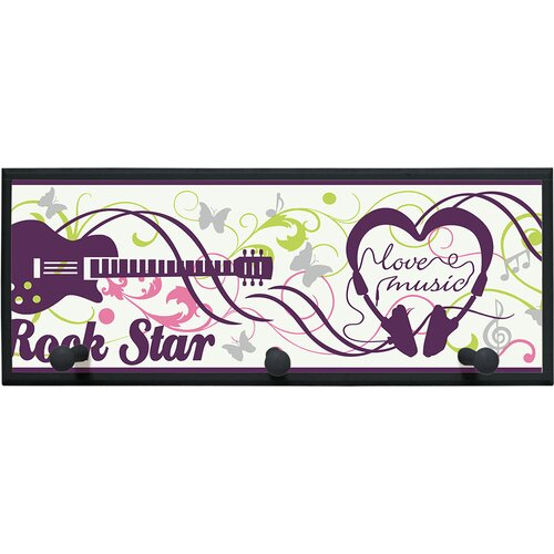 Illumalite Designs Rock Starr Painting Print on Plaque
