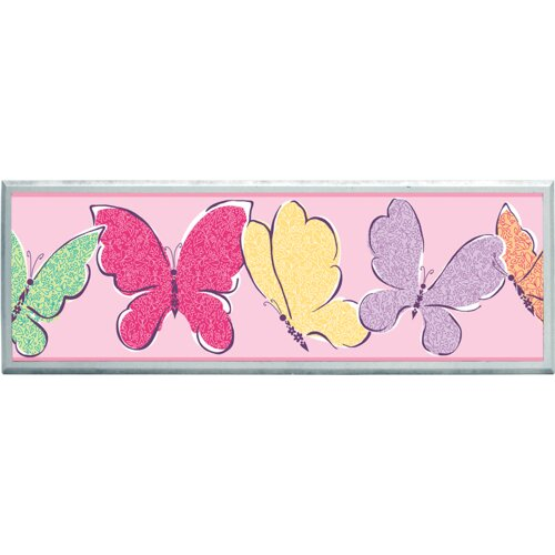 Illumalite Designs Butterflies Graphic Art on Plaque