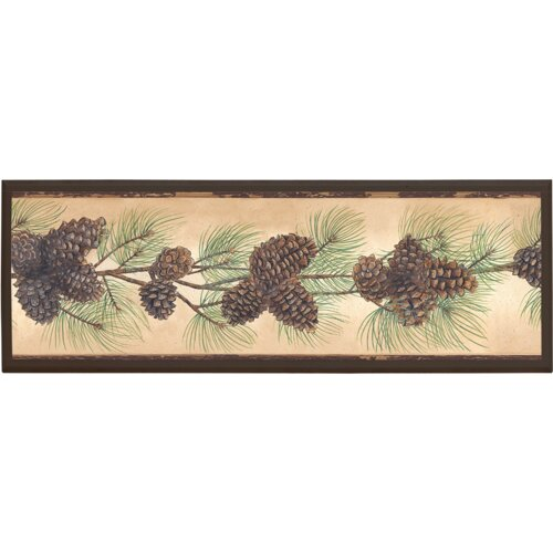 Illumalite Designs Pine Cone Framed Graphic Art