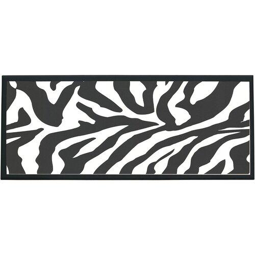 Zebra Framed Graphic Art
