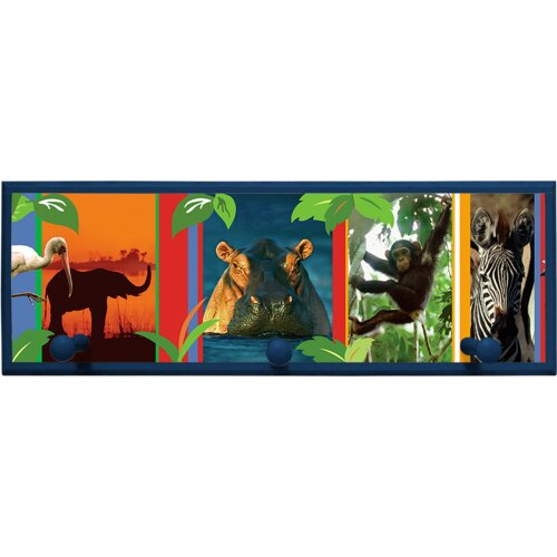 Jungle Animal Wall Plaque