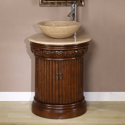 "Silkroad Exclusive Monmouth 24"" Single Bathroom Vanity Set"