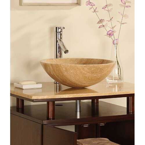 "Silkroad Exclusive Fulton 29"" Single Bathroom Vanity Set"