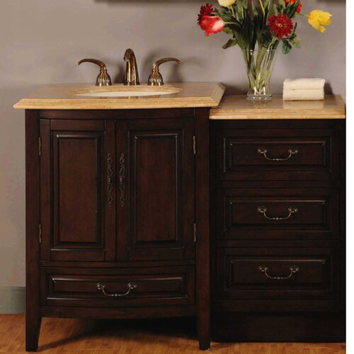 Evelyn 47quot; Single Bathroom Vanity Set amp; Reviews  Wayfair Supply