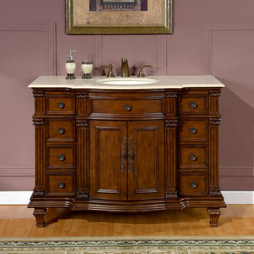 "Esther 48"" Single Bathroom Vanity Set"