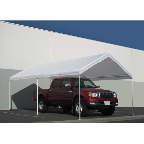 Caravancanopy Domain 10 Ft W X 20 Ft D Car Port