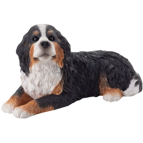 Sandicast Small Size Bernese Mountain Dog Sculpture