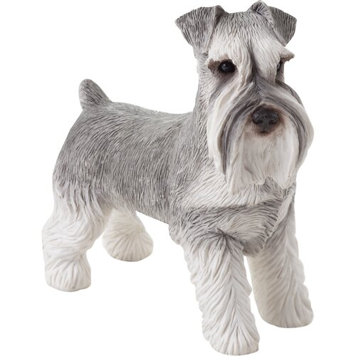 Sandicast Small Size Schnauzer Sculpture