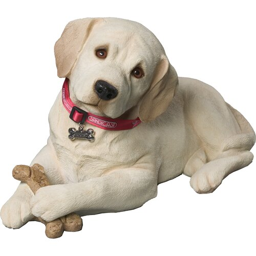 Sandicast Life Size Sculptures Labrador Retriever Figurine