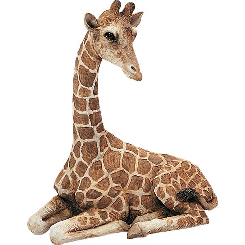Original Size Sculptures Giraffe Figurine