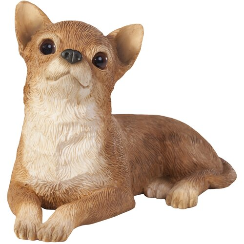 Sandicast Small Size Sculptures Chihuahua Figurine