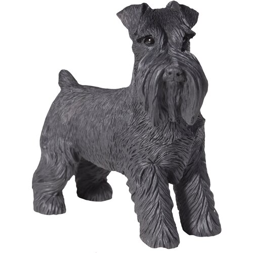 Sandicast Small Size Sculptures Schnauzer UC Figurine