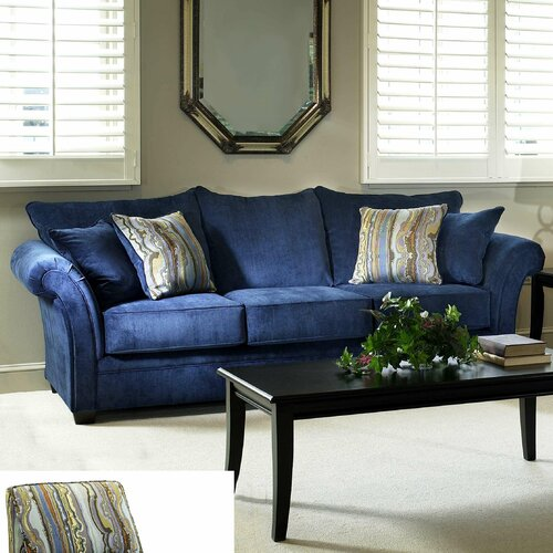 Serta Upholstery Albany Sofa Amp Reviews Wayfair