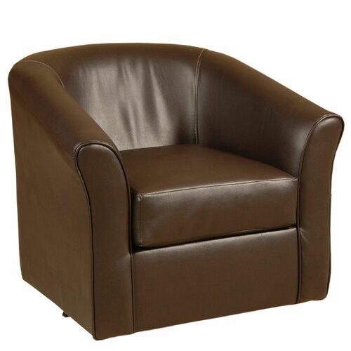 Serta Upholstery Swivel Tub Arm Chair & Reviews