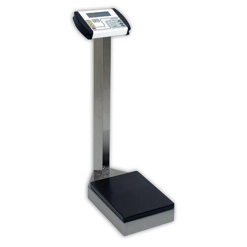Detecto Waist High Stainless Steel Digital Physician Scale