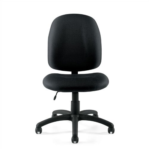 Offices To Go Mid-Back Armless Fabric Task Chair