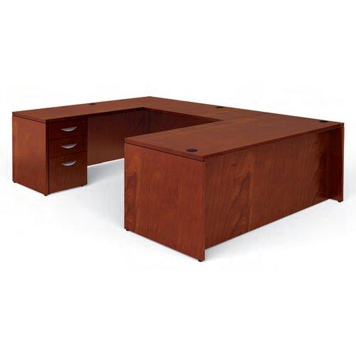 Offices To Go Ventnor Rectangular U-Shaped Executive Desk