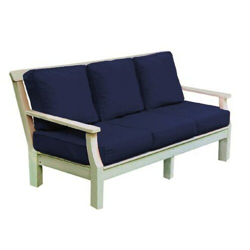 Seaside Casual Nantucket Deep Seating Sofa with Cushions