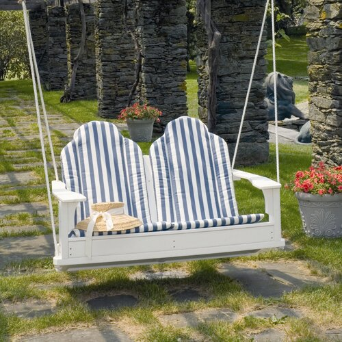 Seaside Casual Adirondack Porch Swing