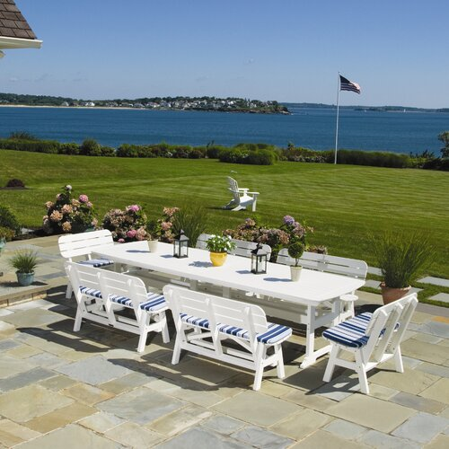 Seaside Casual Portsmouth Rectangular Dining Table