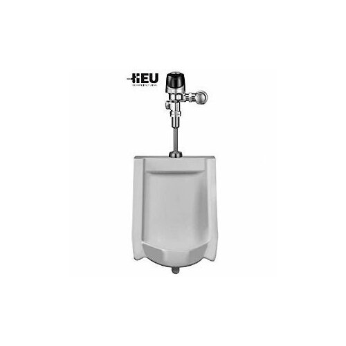 Sloan HEU Wall-Hung Urinal with Optima Plus Sensor Flush Valve